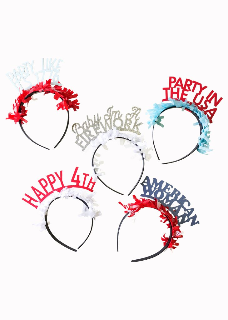 4th of July Headband Pack
