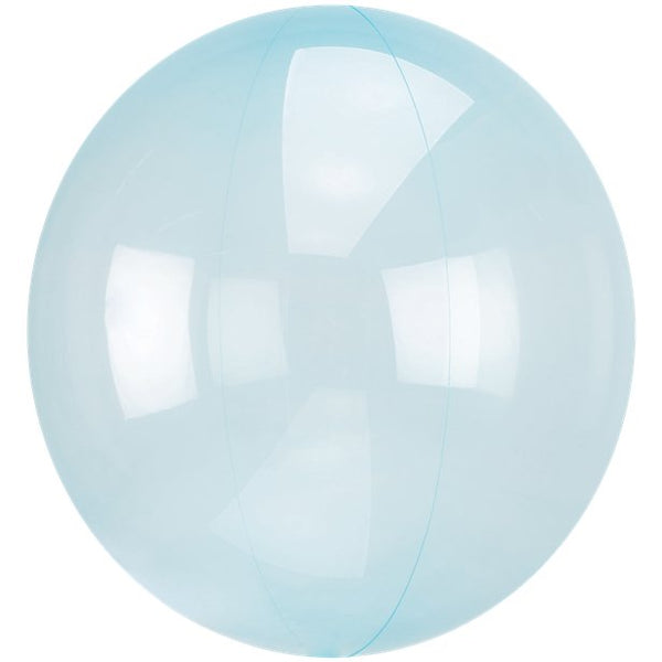 Blue Crystal Clearz Bubble Balloon