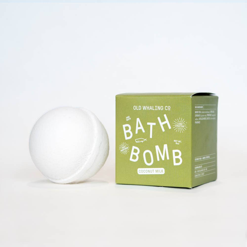 Coconut Milk Bath Bomb
