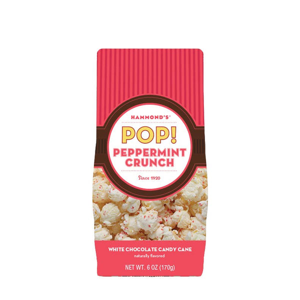 Christmas White Chocolate Peppermint Popcorn