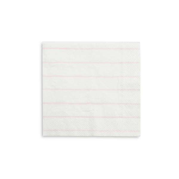 Blush Striped Large Napkins