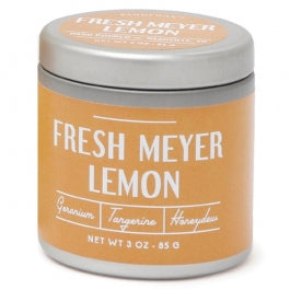 Meyer Lemon White 3oz Tin