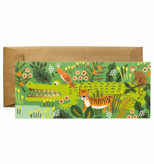 Alligator Birthday No. 10 Card