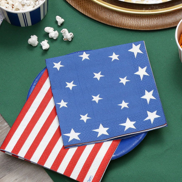Stars & Stripes Luncheon Napkin