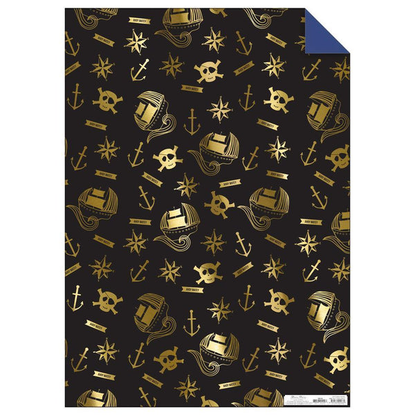 Pirate Gift Wrap Roll