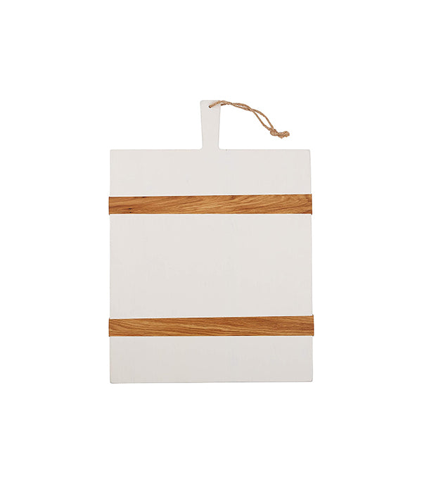 Medium White Rectangle Mod Charcuterie Board