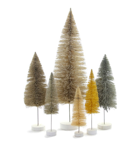 White Trees Set of 6