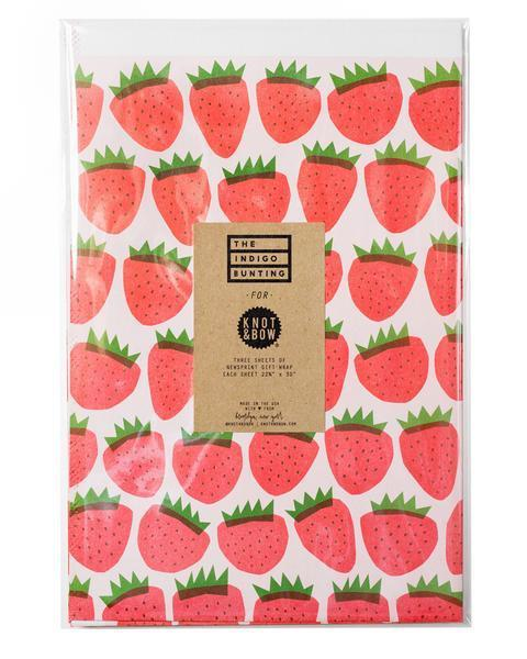 Strawberry Gift Wrap