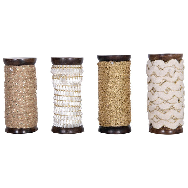10 yards Ribbon - Metallic Styles