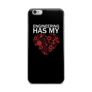 Engineering Has My Heart Iphone Case