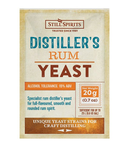 Still Spirits - Distiller's Yeast Rum