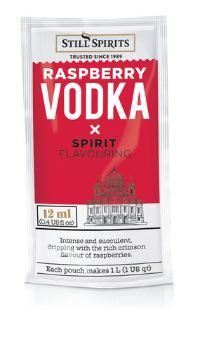 Still Spirits - Just Add Vodka Raspberry Vodka Flavouring