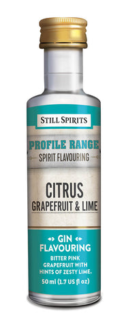 Profile Range Citrus Grapefruit & Lime Flavouring