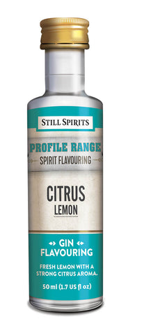 Still Spirits - Profile Range Citrus Lemon Flavouring