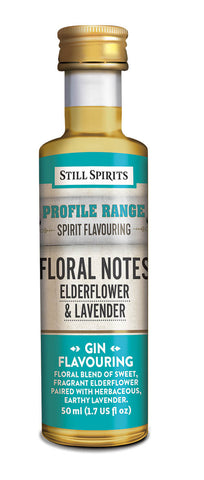 Profile Range Floral Notes Elderflower & Lavender Flavouring