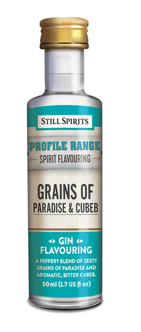 Profile Range Grains Of Paradise & Cubeb Flavouring