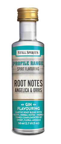 Profile Range Root Notes Angelica & Orris Flavouring