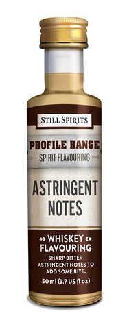 Profile Range Astringent Notes Flavouring