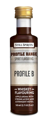Profile Range Whiskey Profile B Flavouring