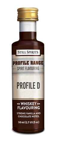 Profile Range Whiskey Profile D Flavouring