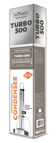 Turbo 500 Stainless Steel Condenser