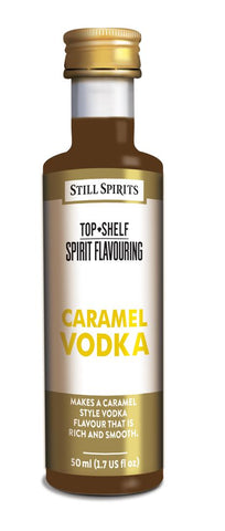 Top Shelf Caramel Vodka Flavouring