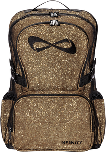 NFINITY BACKPACK SPARKLE GOLD