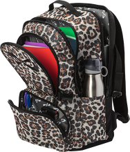 Load image into Gallery viewer, INFINITY BACKPACK SPARKLE LEOPARD (CUSTOM MADE ORDER)