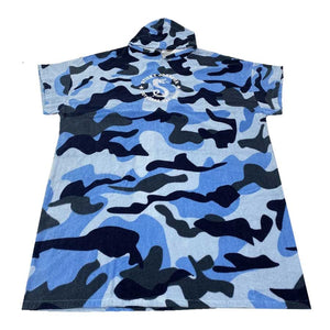 Sticky Johnson Hooded Towel Camo
