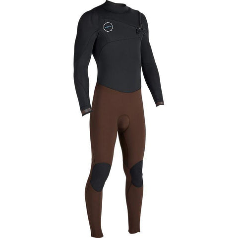 Vissla Mens 7 Seas 3/2mm 50-50 Steamer - Dark Brown
