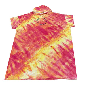 Sticky Johnson Hooded Towel Tie Dye