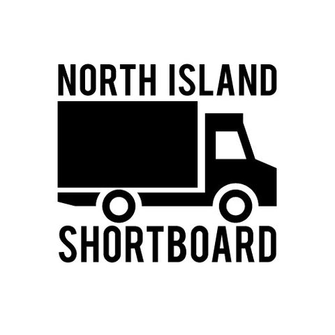 SURFBOARD FREIGHT: Under 7'0 - North Island