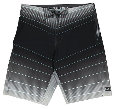 "BILLABONG Fluid X 21"" Mens Boardshort - Black"