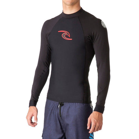 Ripcurl Mens Flashbomb 0.5mm Neo Lycra L/SL Crew