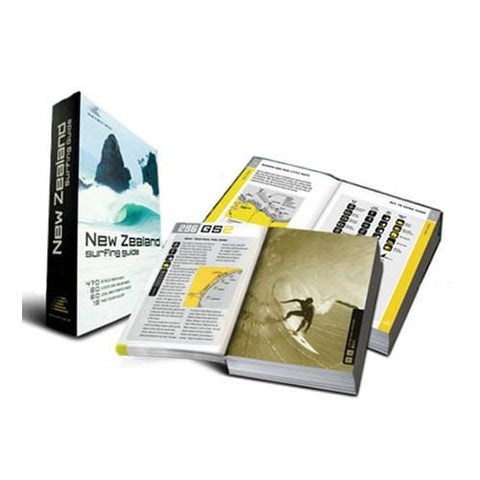 Wavetrack New Zealand Surfing Guide Book