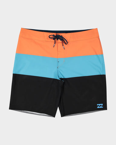 "BILLABONG TRIBONG AIRLITE 19"" BOARDSHORT - Orange"