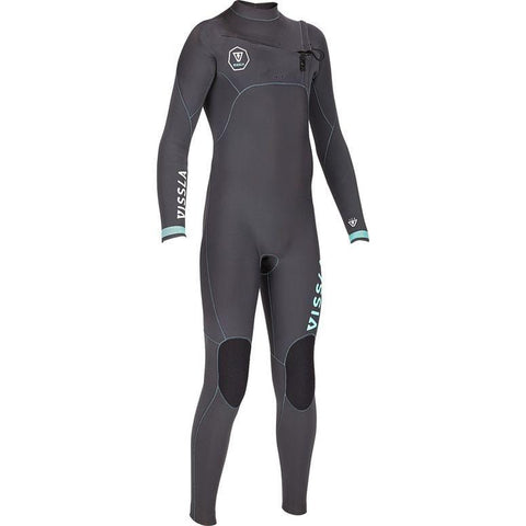 Vissla Boys 7 Seas 3/2mm Steamer - Dark Grey