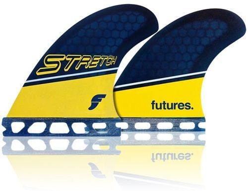 Futures Stretch Honeycomb V2 Quad Fins