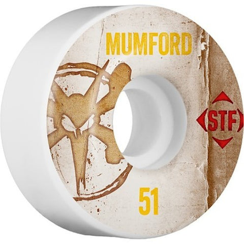 Bones Mumford STF 51mm Wheels