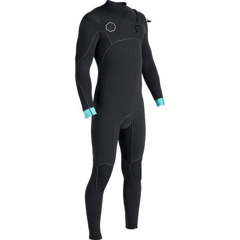 Vissla Mens North Seas 3/2mm Steamer - Black