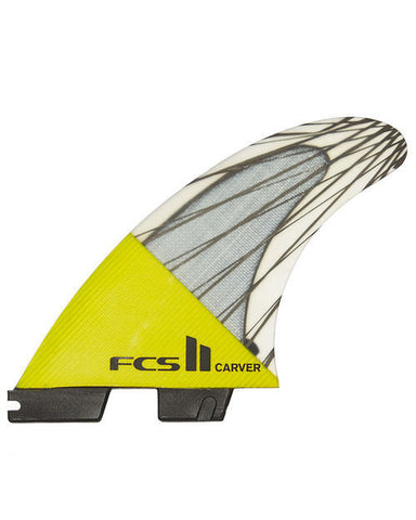 FCS II Carver Carbon Core Thruster Fins - Yellow
