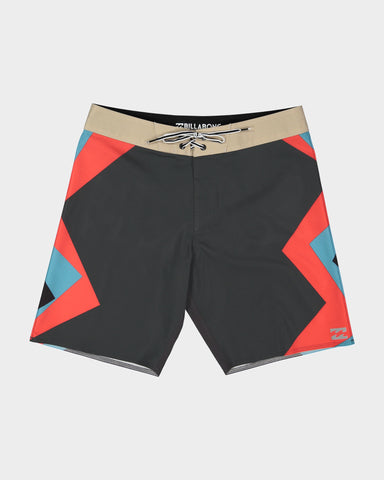 "BILLABONG DUME AIRLITE 19"" BOARDSHORT - GREY"