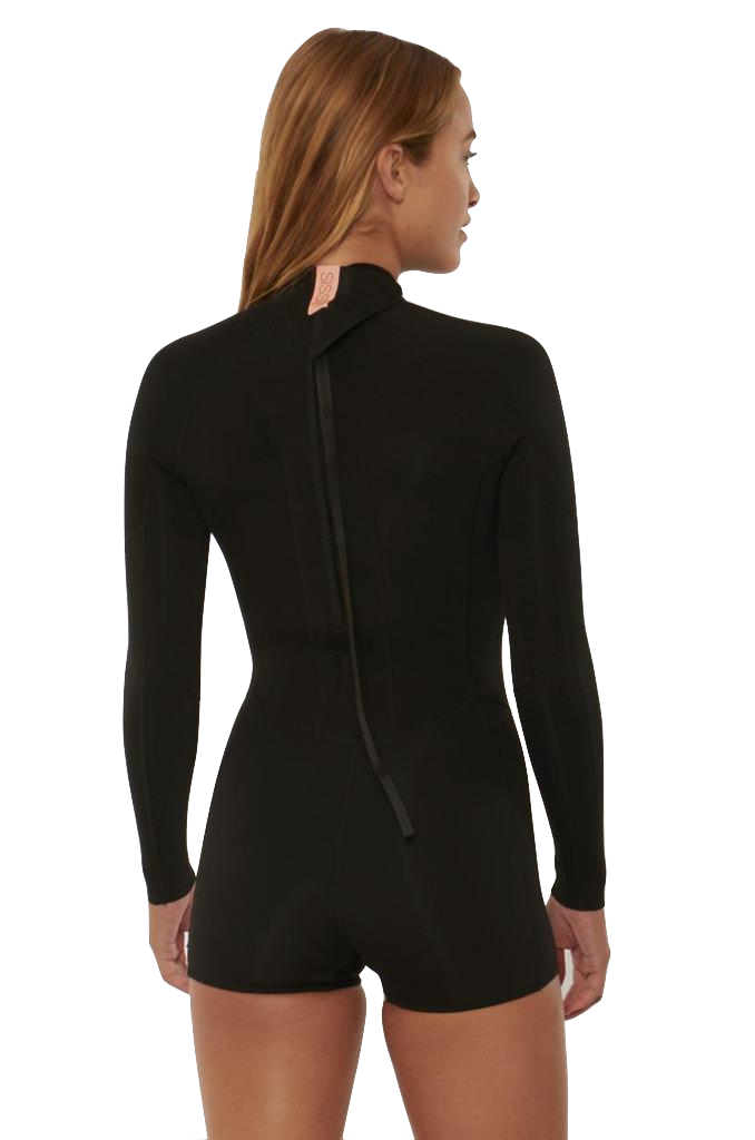 Sisstrevolution 7 Seas 2/2 Long Sleeve Spring Suit - Black