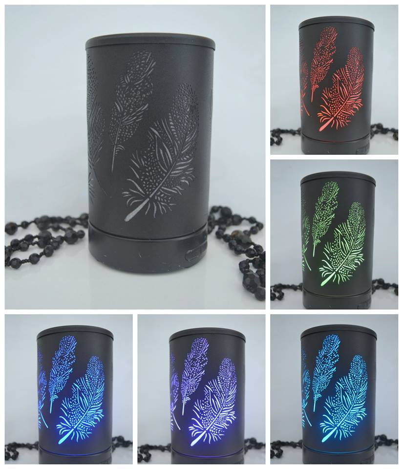 Black Feather Diffuser