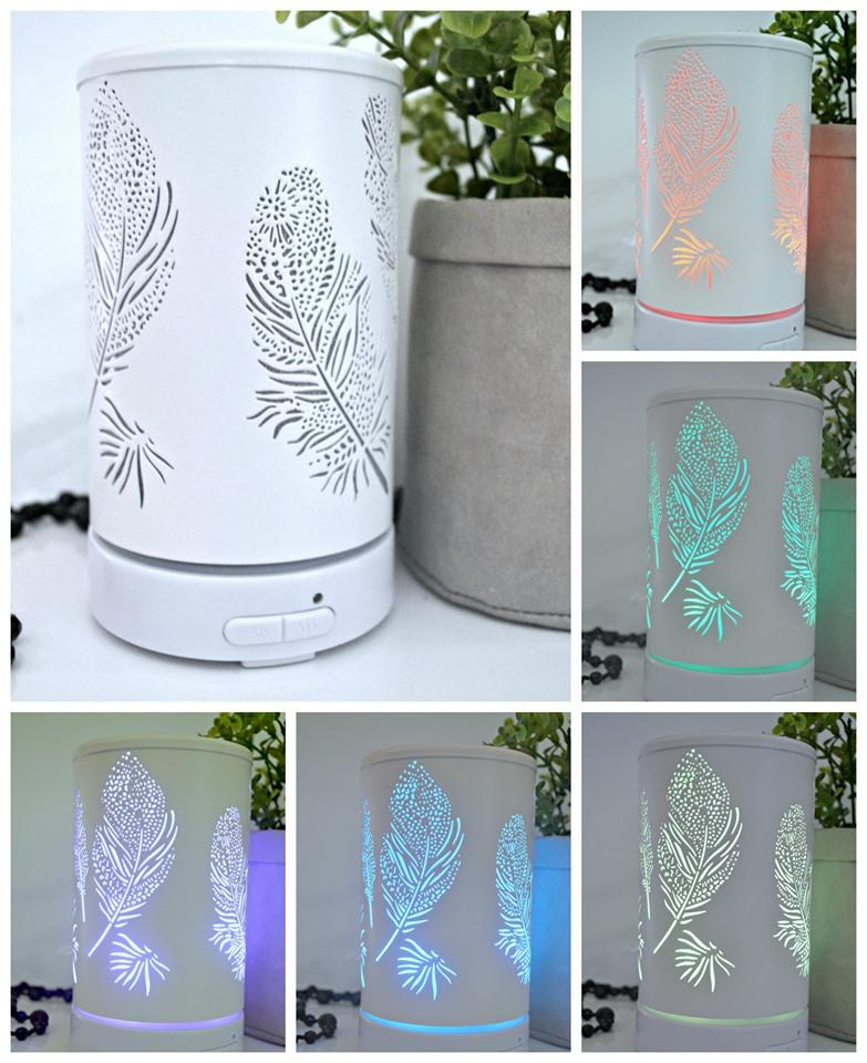 White Feather Diffuser
