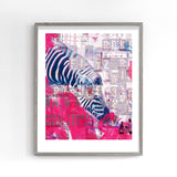 Small World Zebra Print