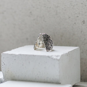 Textured Claavi Ring