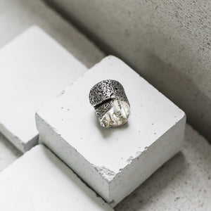 Textured Jardin Ring