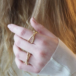 Two Piece Zinkir Ring