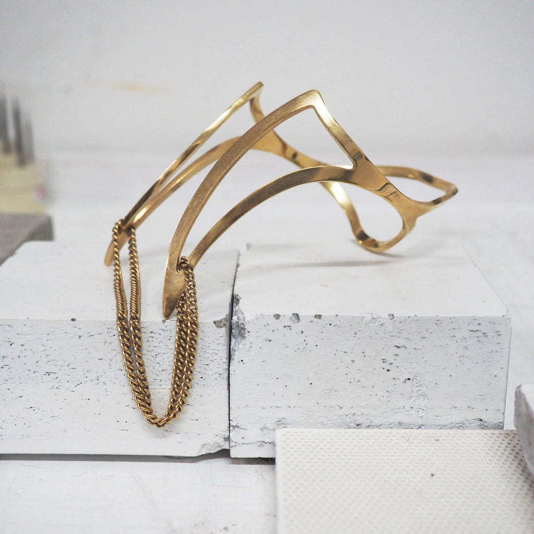 Cut-Out Carpel Chain Cuff *LAST PIECE*
